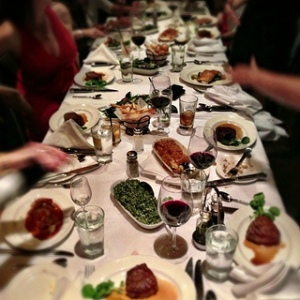 Holiday Feast photo credit: flickr by ChatChowTV